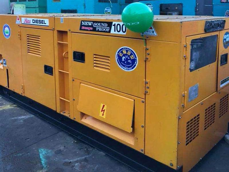 Máy phát điện công nghiệp 100kva