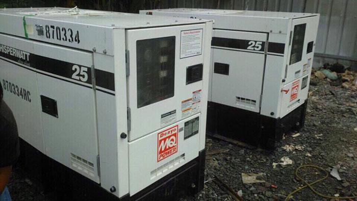Bán máy phát điện cũ còn chất lượng giá rẻ tại TPHCM