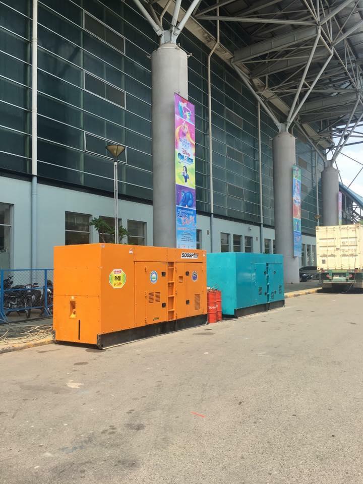 Bán máy phát điện ở Quy Nhơn