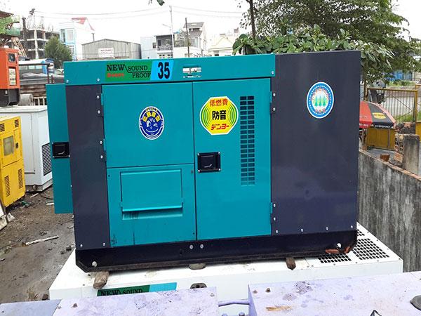 Máy phát điện cũ 35kva