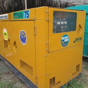 Máy phát điện cũ 75kva