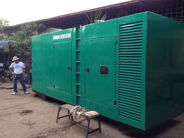 Máy phát điện cũ Cummins 1000kva