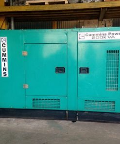 Máy phát điện cũ Cummins 200kva