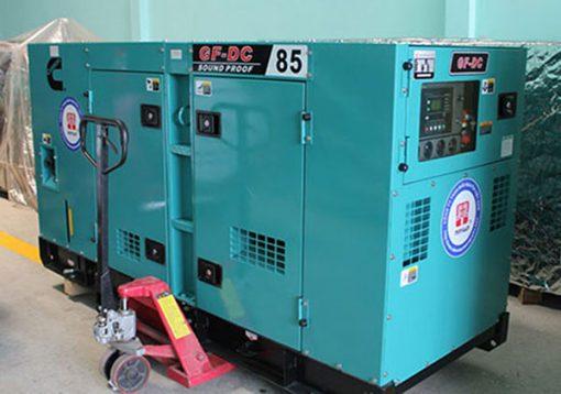 Máy phát điện cũ Cummins 80kva