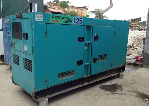 Máy phát điện cũ Denyo 125kva