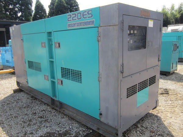 Máy phát điện cũ Denyo 220kva