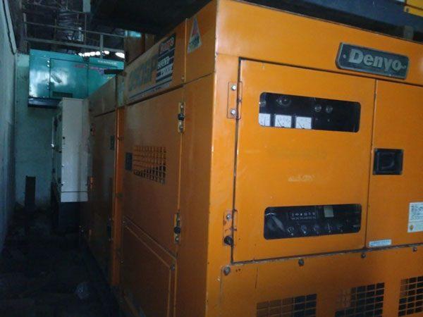 Máy phát điện cũ Denyo 350kva
