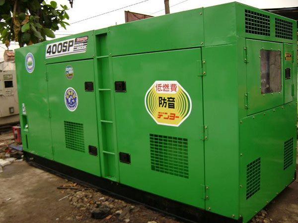 Máy phát điện cũ Denyo 400kva