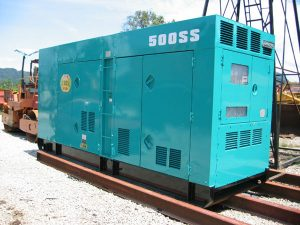 Máy phát điện cũ Denyo 500kva