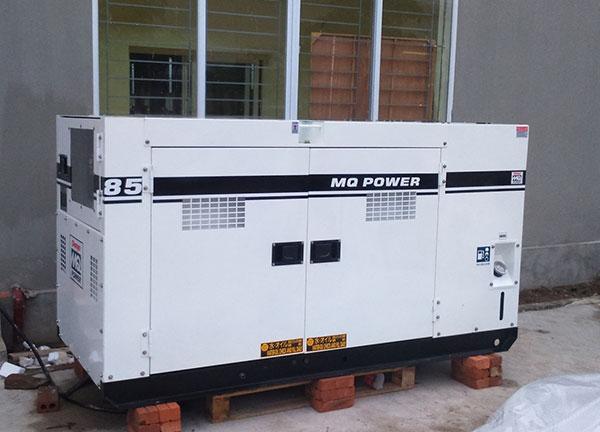 Máy phát điện cũ Denyo 85kva