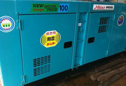 Máy phát điện cũ Komatsu 100kva