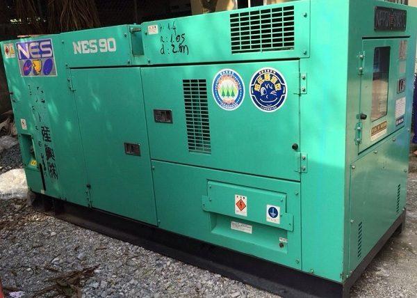 Máy phát điện cũ Komatsu 90kva