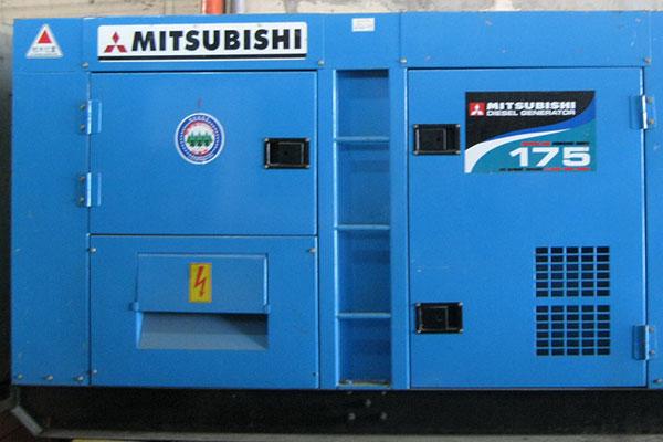 Máy phát điện cũ Mitsubishi 175kva