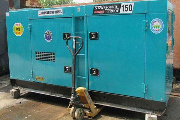 Máy phát điện cũ Mitsubishi 150kva