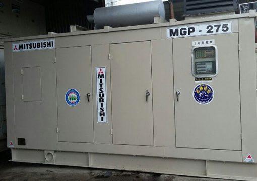 Máy phát điện cũ Mitsubishi 275kva