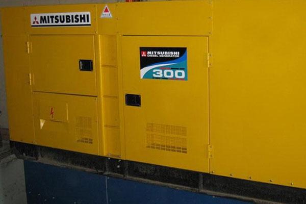 Máy phát điện cũ Mitsubishi 300kva
