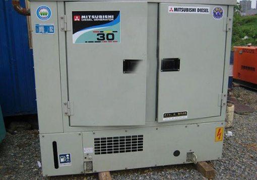 Máy phát điện cũ Mitsubishi 30kva