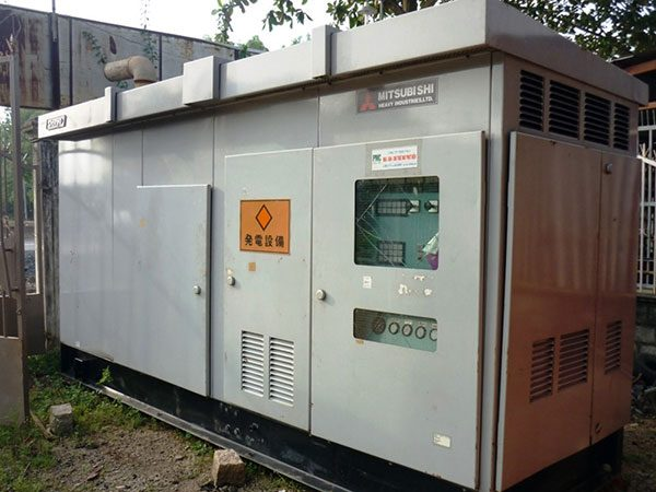 Máy phát điện cũ Mitsubishi 350kva