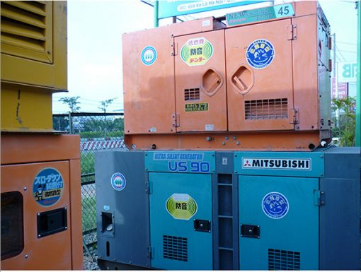 Máy phát điện cũ Mitsubishi 45kva