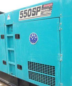 Máy phát điện cũ Mitsubishi 550kva