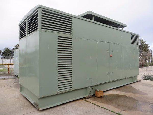 Máy phát điện cũ Mitsubishi 750kva