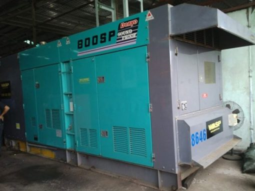 Máy phát điện cũ Mitsubishi 800kva