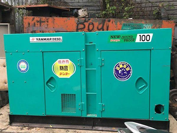 Máy phát điện cũ Yanmar 100kva