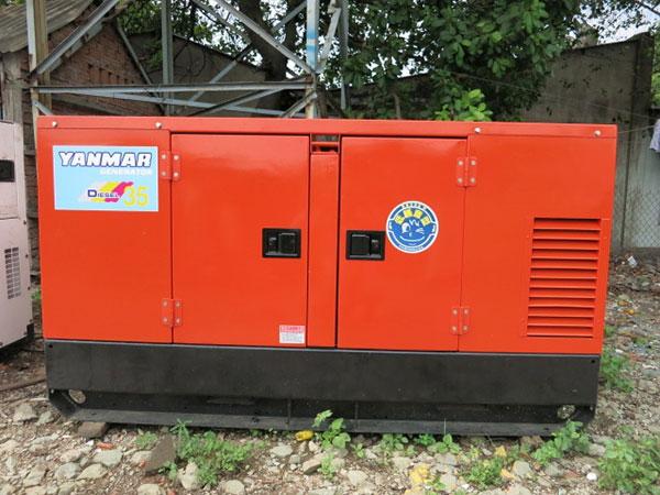 Máy phát điện cũ Yanmar 35kva