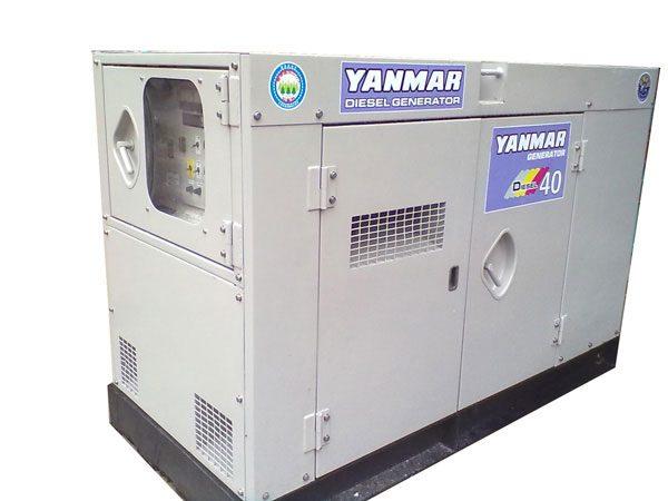 Máy phát điện cũ Yanmar 40kva