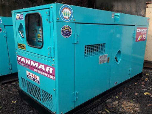 Máy phát điện cũ Yanmar 75kva
