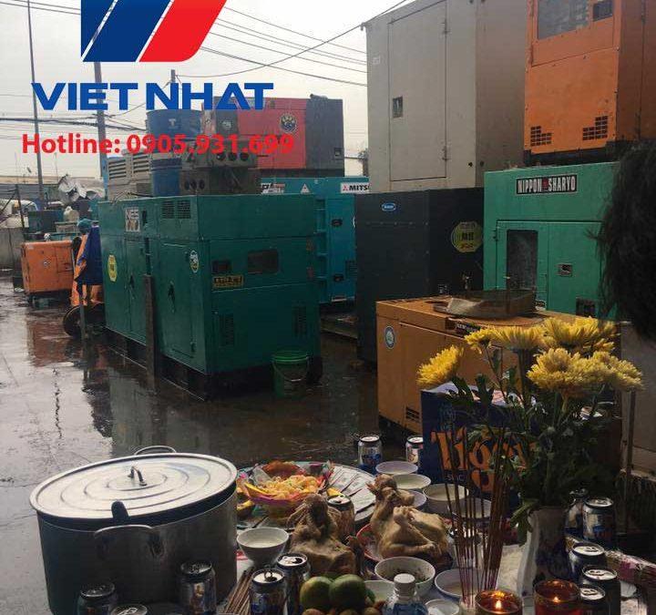 Máy phát điện Mitsubishi công suất 450KVA giá rẻ