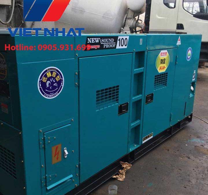 Máy phát điện Mitsubishi công suất 100KVA giá rẻ