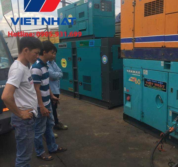 Máy phát điện Denyo công suất 350KVA giá rẻ