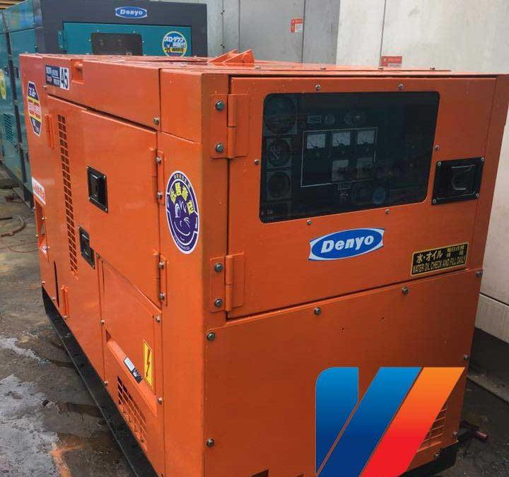 Máy phát điện Mitsubishi công suất 85KVA giá rẻ
