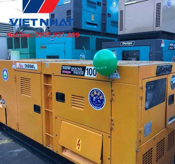 Máy phát điện Komatsu 100KVA giá rẻ