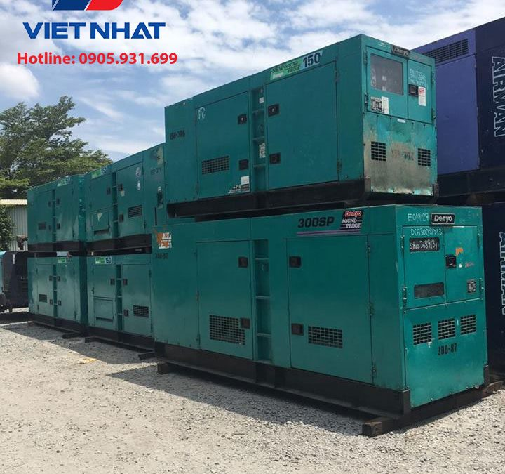 Máy phát điện Komatsu 450KVA giá rẻ
