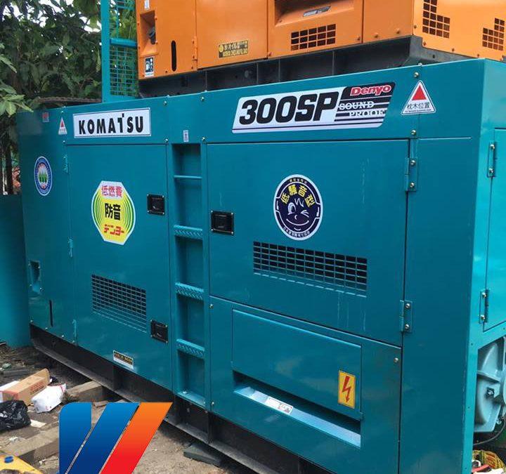 Máy phát điện Komatsu 300KVA giá rẻ