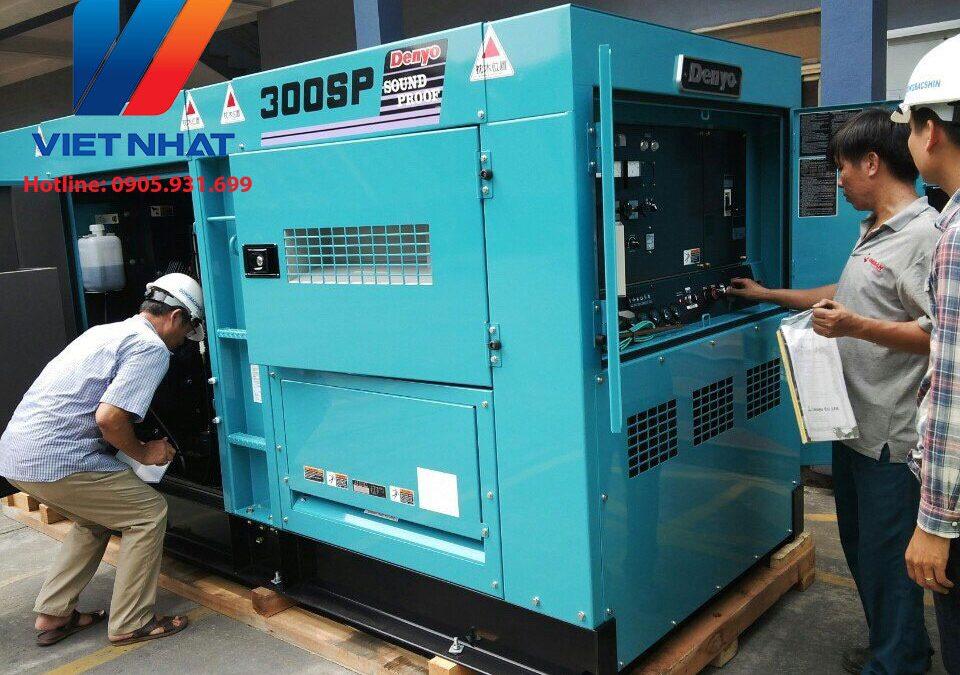 Máy phát điện Mitsubishi 300KVA  đã qua sử dụng