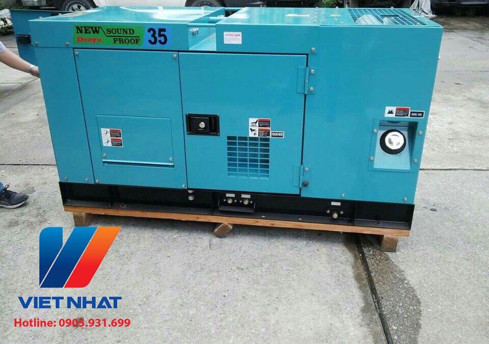 Máy phát điện Denyo công suất 35KVA giá rẻ