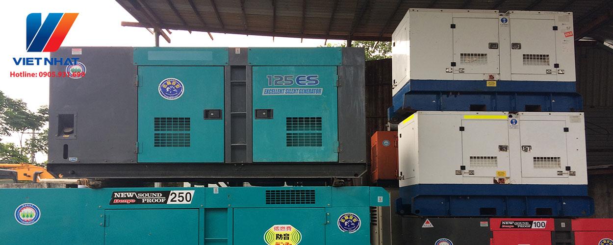 Kho máy phát điện công nghiệp Việt Nhật