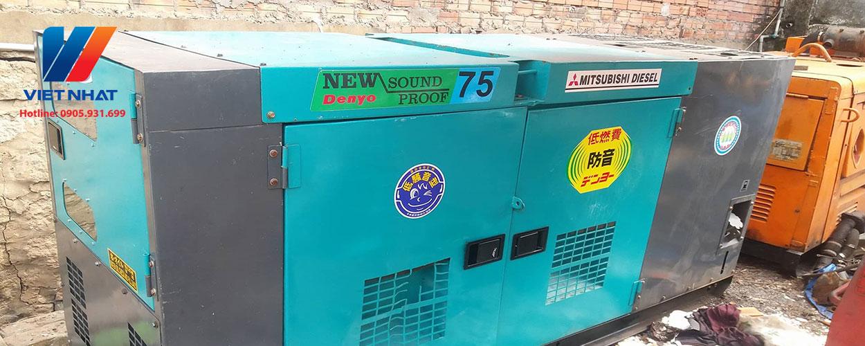 Máy phát điện công nghiệp cũ Việt Nhật
