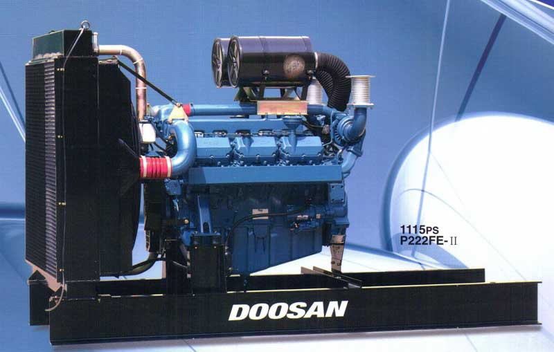 Bán máy phát điện công nghiệp cũ Doosan 400kva - 320kw bảo hành đầy đủ