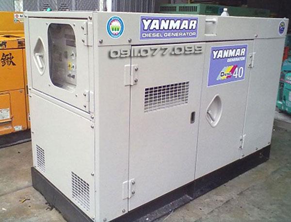 bán máy phát điện cũ Nhật Bản Yanmar 40kva