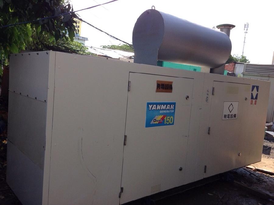 Chính hãng máy phát điện công nhiệp 150kva của Yanmar