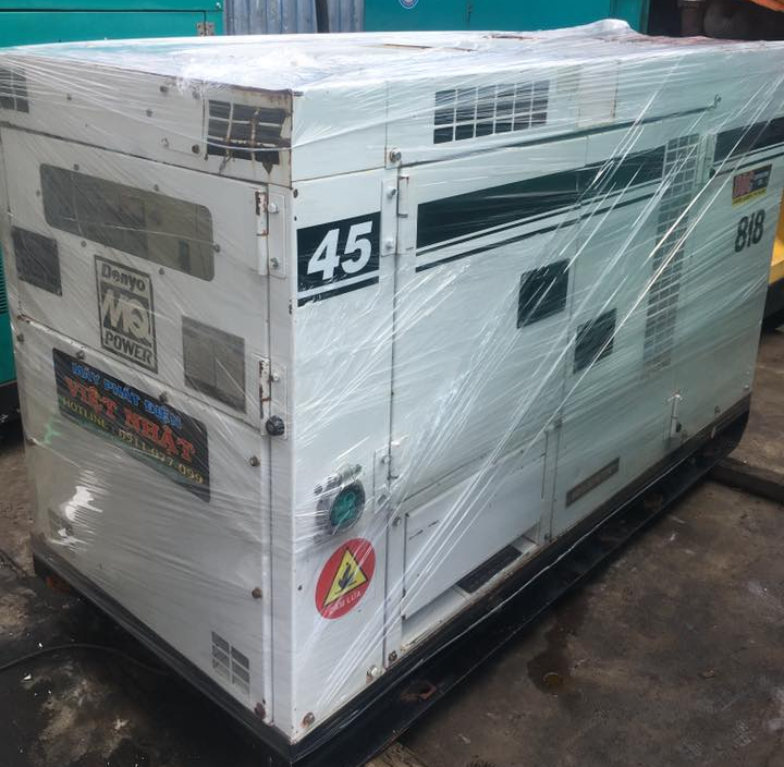 Denyo 45kva máy phát điện cũ hàng bãi của Việt Nhật
