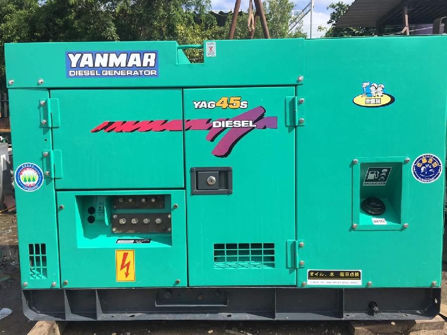 Hàng cũ máy phát điện công nghiệp Yanmar 45kva của Nhật Bản