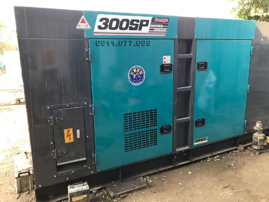 Máy phát điện công nghiệp 3 pha Denyo 300kva