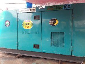 Máy phát điện Mtisubishi 100kva động cơ Denyo