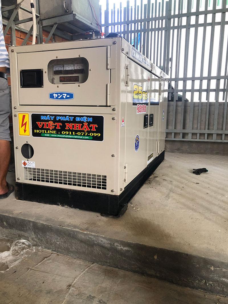 Máy phát điện công ty Việt Nhật