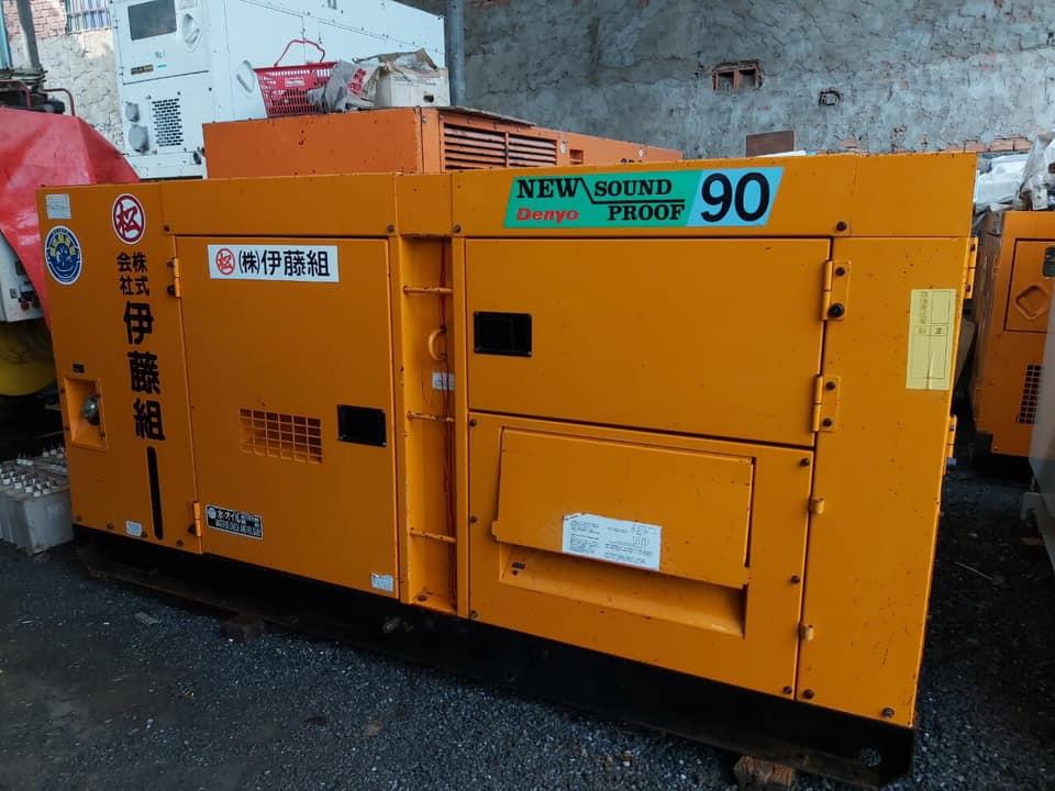 Máy phát điện Nhật bãi 90kva